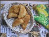 Baked Gujiya / Gujiya stuffed with Coconut