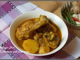 Bengali Murgir Jhol/Sunday Special Bengali Chicken Curry/ Chicken in Thin Gravy