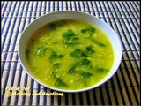 Dal Palak / Palak Dal / Spinach in Split Green Gram Skinless