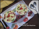 Fruit Custard / How to make Fruit Custard