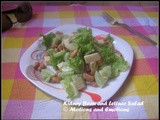 Kidney Bean and Lettuce Salad