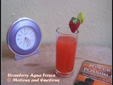 Strawberry Agua Fresca / Mexican Strawberry Water