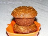 Whole Grain Muffin – Butter less and Oil less Recipe