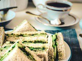 Indian Cucumber Chutney Sandwich Recipe – Tea Time Sandwich