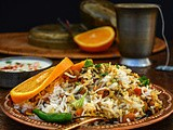 Lobia Rice Recipe | Black Eyed Bean Carrot Biryani | Video