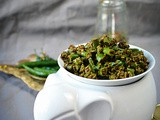 Rajasthani Mirchi ke Tipore – Instant Green Chili Pickle Recipe Video