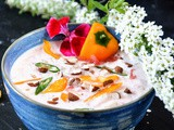 Watermelon Onion Yogurt Chip Dip | Watermelon Raita Recipe