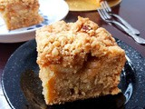 Apple Crumble Coffee Cake 苹果咖啡蛋糕