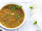 How to make Sambar | South Indian lentil stew