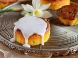 "Mini cakes ""Nantais""..and some spring impressions for Easter"