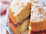 How to make Jam Sandwich Cake
