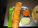 How to make Spicy Paneer Dosa