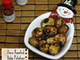 Oven Roasted Baby Potatoes | Baked French Fries