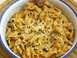 Roasted Red Bell Pepper Pasta