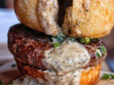 "Try the ""Burger Bomb"" by Raw Material in nyc"