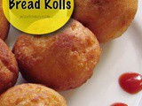 Bread Roll Recipe - How To Make Bread Potato Rolls - Kids Snacks Recipes