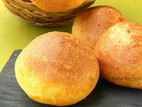Italian Dinner Rolls | Garlic Flavored Soft Buns | Cheese Buns