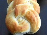 Potato Stuffed Soft Buns | Rosette | Kaiser Shaped Vegetarian Dinner Rolls