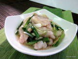 Fish fillet with ginger & scallions