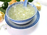 Water Chestnut Sweet Soup ~ 馬蹄羹