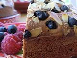 Finnish Sour Cream Cake with Spices and Berries - Guest Post with Bread and Milk and Blackberries