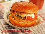 Roadside Noodle Burger / Indian Street Burger