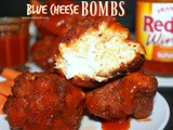 ~Buffalo Chicken Wing Blue Cheese bombs