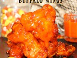 ~Candy Corn Glazed Buffalo Wings