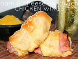 ~Frick's Quality Meats Ham & Cheese Sandwich Chicken Wings