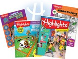 ~Highlights.. activity books for kids