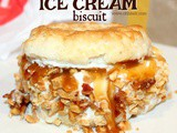 ~McDonald's Caramel & Bacon Ice Cream Biscuit