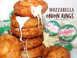 ~Mozzarella Onion Rings