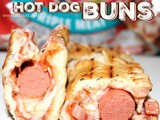 ~Pizza Hot Dog Buns