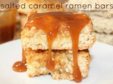 ~Salted Caramel Ramen Bars