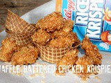 ~Waffle Battered Krispie Chicken Nuggets