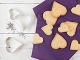 Lavender lemon cookies