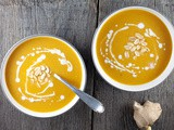 Pumpkin and zucchini soup