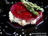 Crazy Sexy Kitchen : Beetroot Ravioli with Cashew Cream Cheese