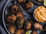 Deep-fried Brussels Sprouts with Chipotle-Bacon Mayo
