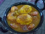 Chingudi - Anda Jholo ( Prawn - Egg Curry )