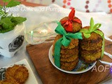 Eggless Pumpkin Oats Cookies ( Diwali Collaboration )