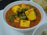 Matar Paneer (Without onion and garlic)