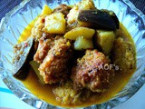 Raam Rochak Tarkari ( a no onion no garlic dumpling curry from Odisha )