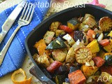 Root Vegetables Roast ( a Vegan Side for Christmas Dinner )