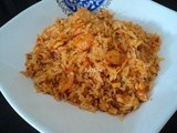 Schezuan-Style Prawns Fried Rice