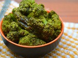Sorisa Broccoli ( Broccoli in Mustard Paste )