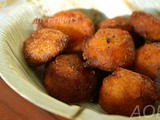 Talaa Pitha ( Ice Apple / Sugar Palm Fritters from Odisha )