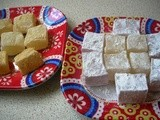 Home Made Turkish Delight (Lokum) and they go so well with Turkish Coffee