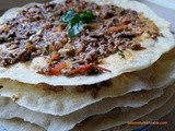 Kayseri Style Layers of Flat Breads with Ground Meat and Vegetable Topping – Kayseri Usulu Yaglama