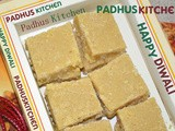 7 Cup Burfi Recipe-Diwali Sweets-Indian Sweets for Deepavali (Step wise pics)